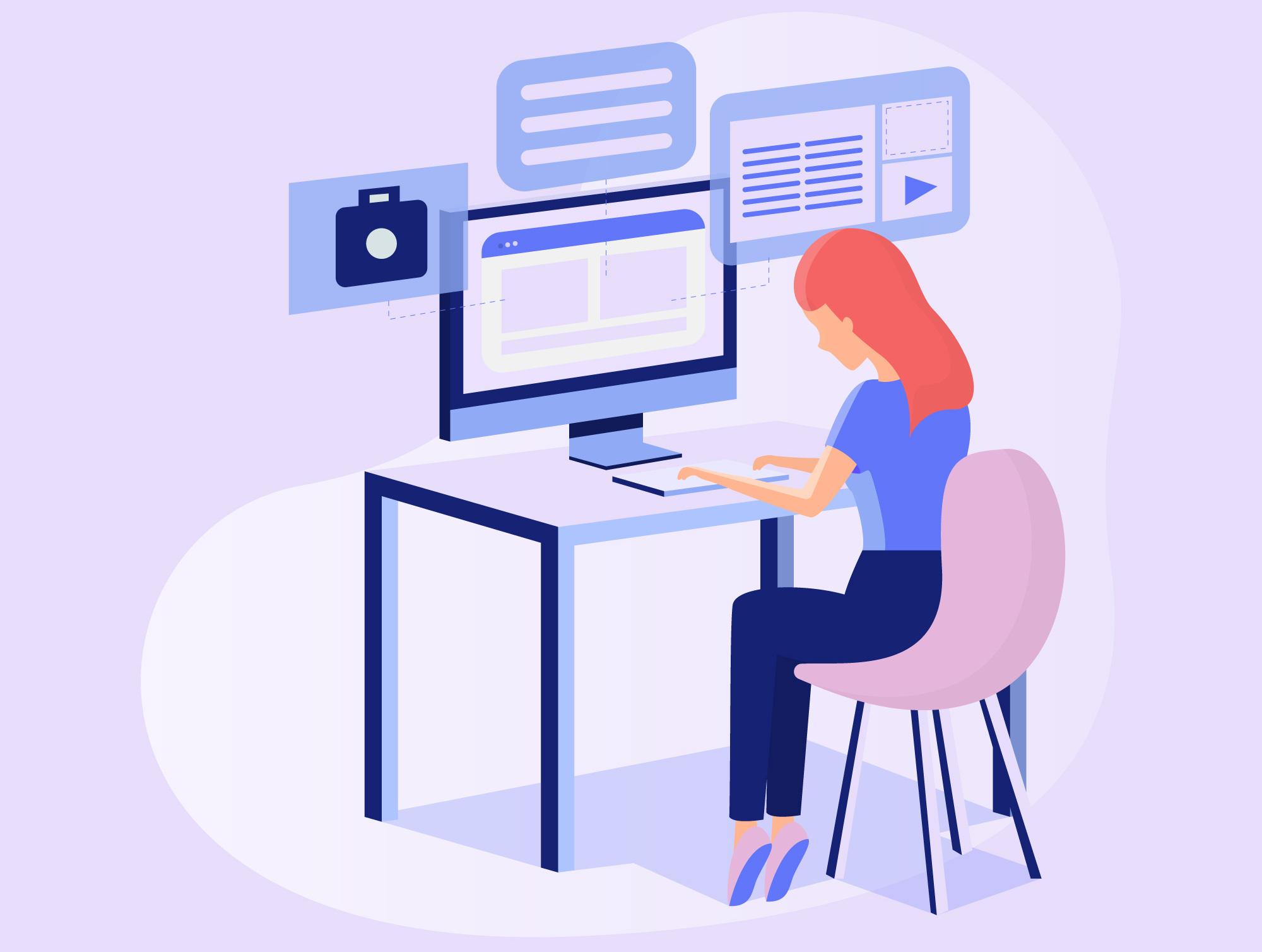 Online dating dizajneri
